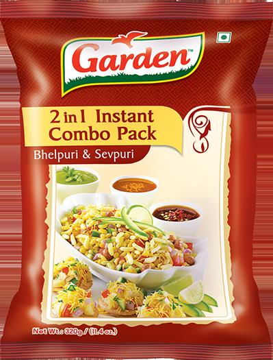 Bhelpuri & Sevpuri – 2 in 1 Instant combo pack