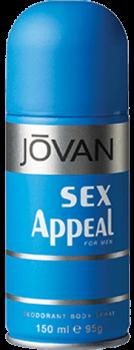 Jovan (M) Sex Appeal Deo