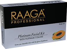 Raaga – Platinum Facial Kit (Platinum Colloid)