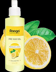 Pre wax gel with Lemon