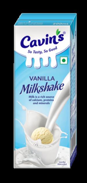 Cavin's Vanilla Milkshake