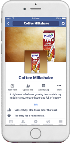 Cavin's Coffee Milkshake