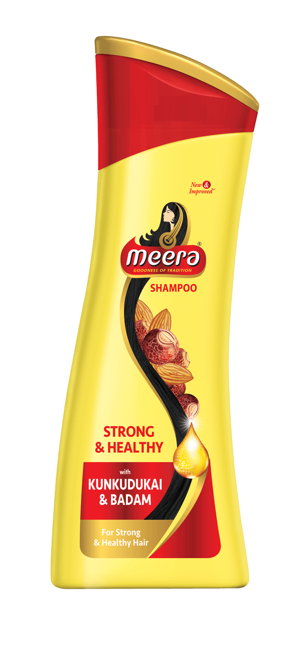Meera Strong and Healthy Shampoo