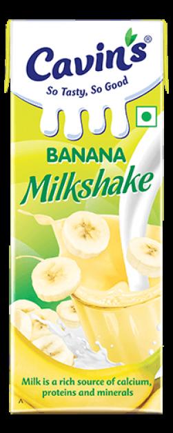 Cavin's Banana Milkshake