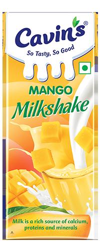 Cavin's Mango Milkshake