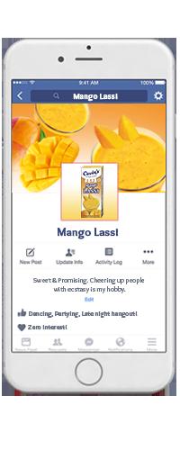 Cavin's Mango Lassi