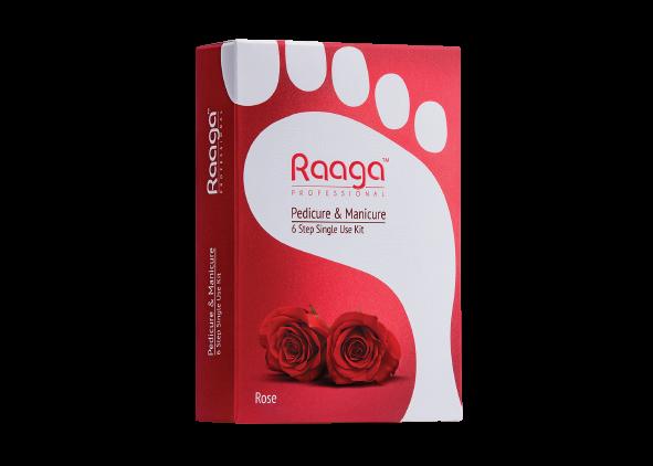 Raaga Manicure and Pedicure Rose