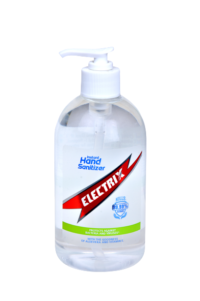 Electrix Instant Hand Sanitizer Gel