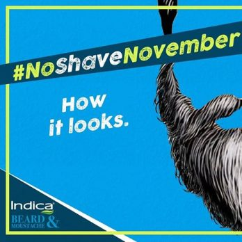 No Shave November with Indica Beard and Moustache
