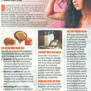 Go Natural For Hair Care