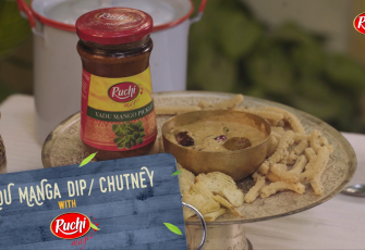 Ruchi Magic collaborates with Rakesh Raghunathan creating delicious recipes with a pickle-y twist