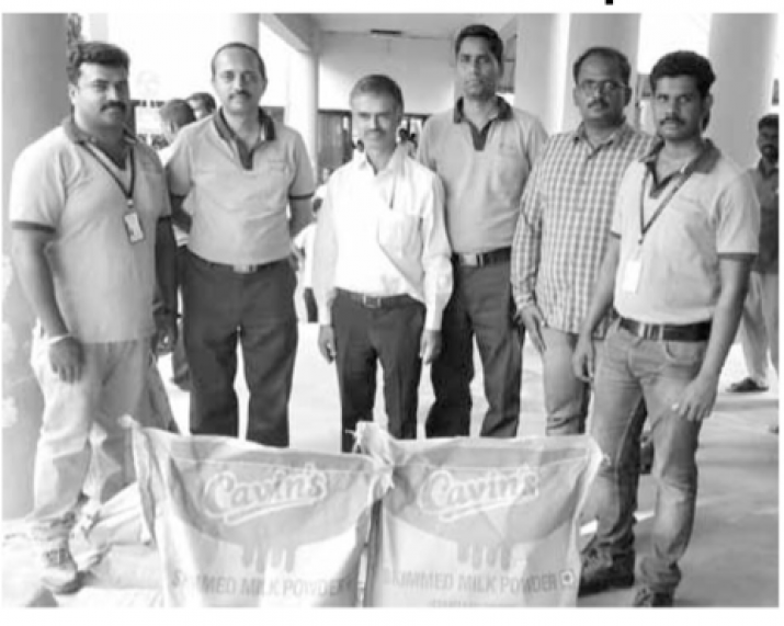 Gaja Relief Materials sent to districts