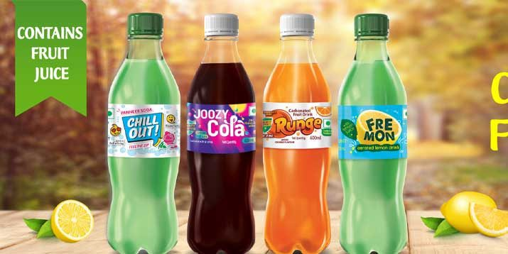 Carbonated Drinks Launch Announcement