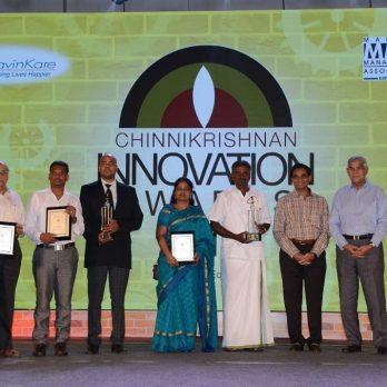 Chinnikrishnan Innovation Awards 2018