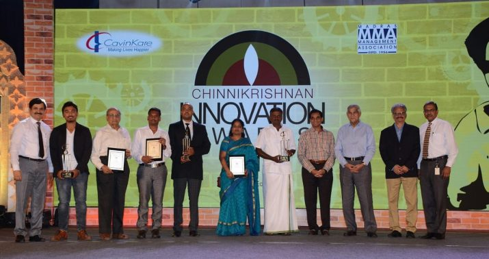 Chinnikrishnan Innovation Awards 2018