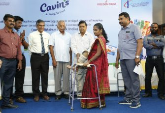 CavinKare Extends Support to over 100 Amputees in Cuddalore with Artificial Limbs